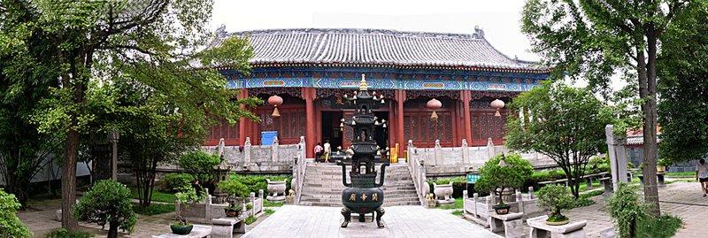 JZ Panorama Ancient Temple