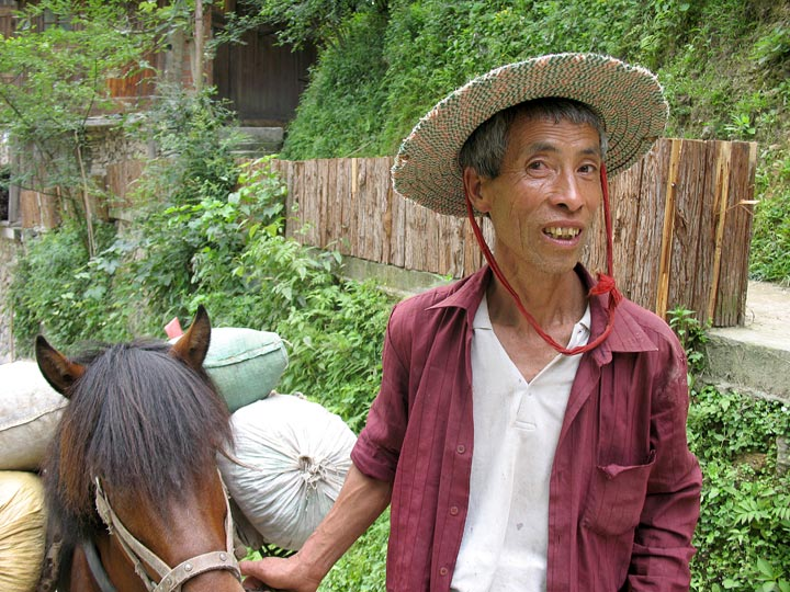 XJ Miao and horse