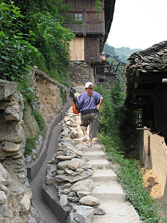 XJ Steep path