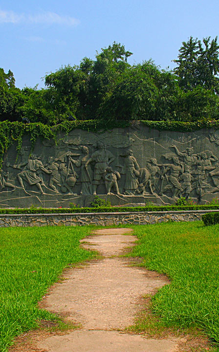 WEL Carved Wall