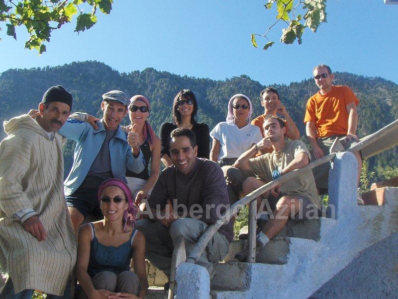 Gite Auberge  Azilan, Chefchaouen, X, Chaouen, Tourisme Rural,  Maroc, Tourist in Morocco, Auberge Chaouen