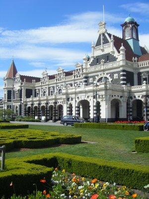 Railway Station in Dunedin