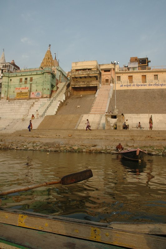 Boat trip up the Ganges