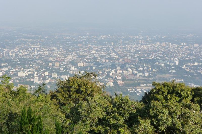 Thailand - Chiang Mai - View from Wat Phra