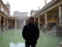 me at roman baths