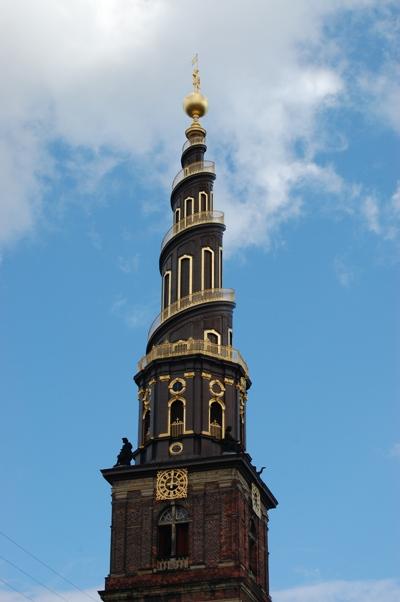 Small spiral church