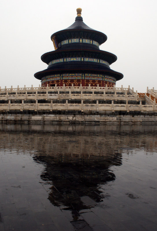 Temple and Reflection