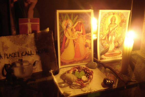altar in my bedroom