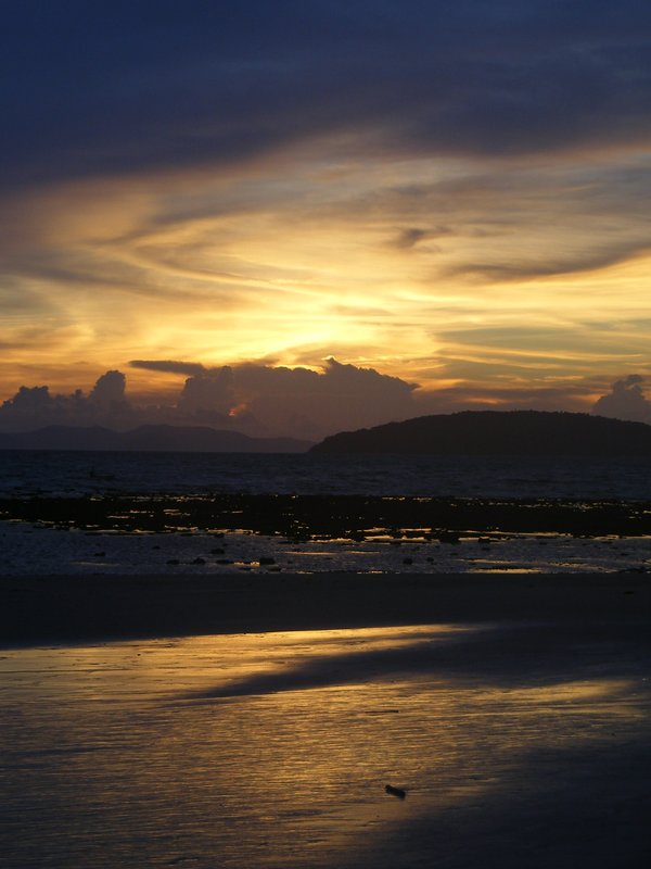 Sunset Railay2