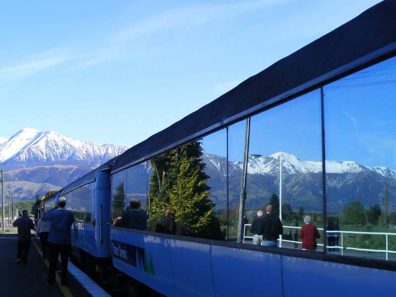 Tranzalpine train