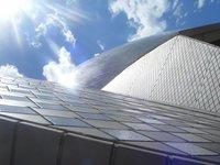 Opera house glare
