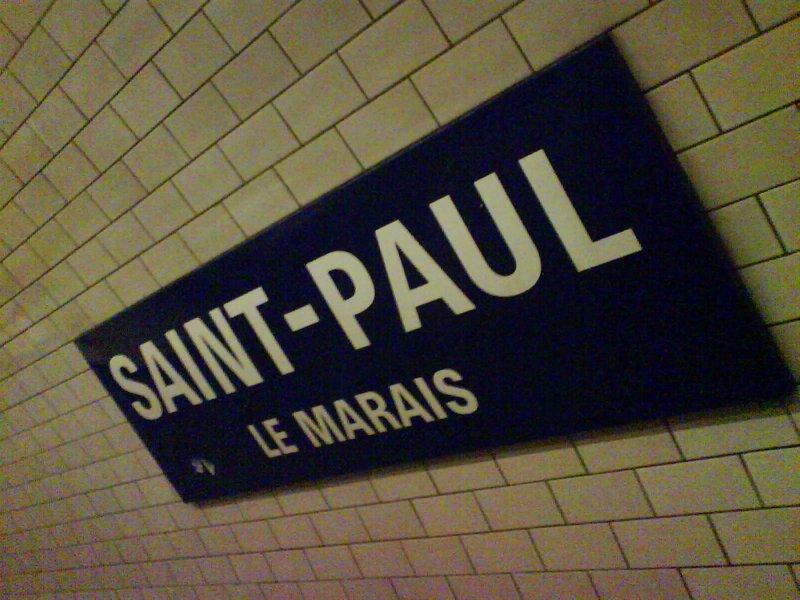 Saint Paul Tube Station