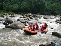 rubber rafting