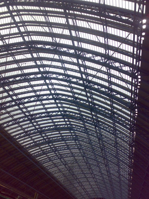 Kings Cross St Pancras International station