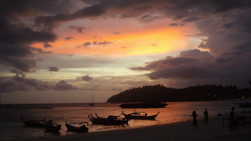 Sunset on Koh Lipe