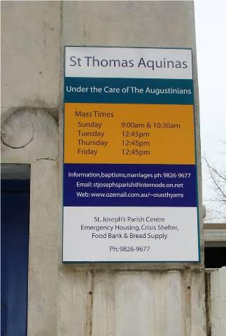 St Thomas sign2