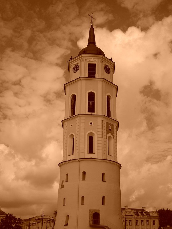 Campanile della Cattedrale di Vilnius