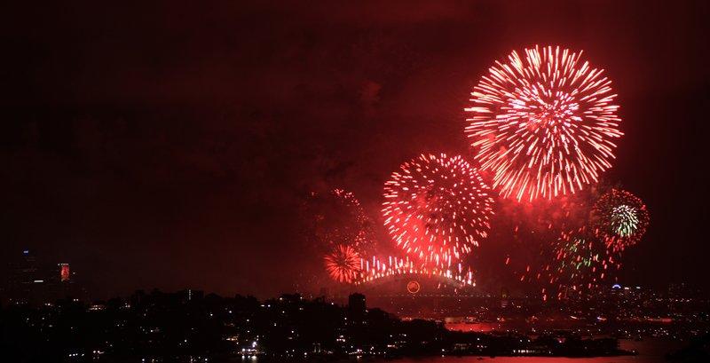Sydney's New Year celebration