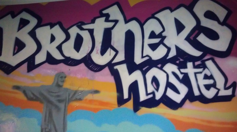 Mural, Brothers Hostel