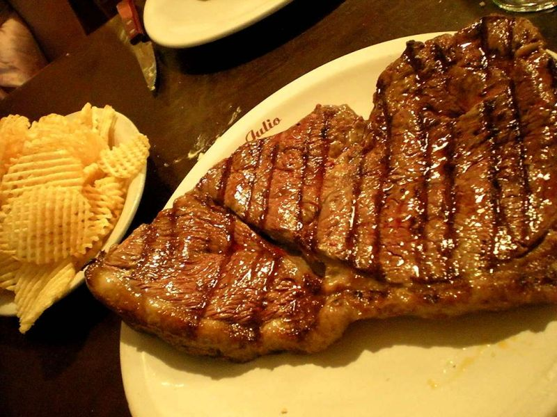 food - first steak