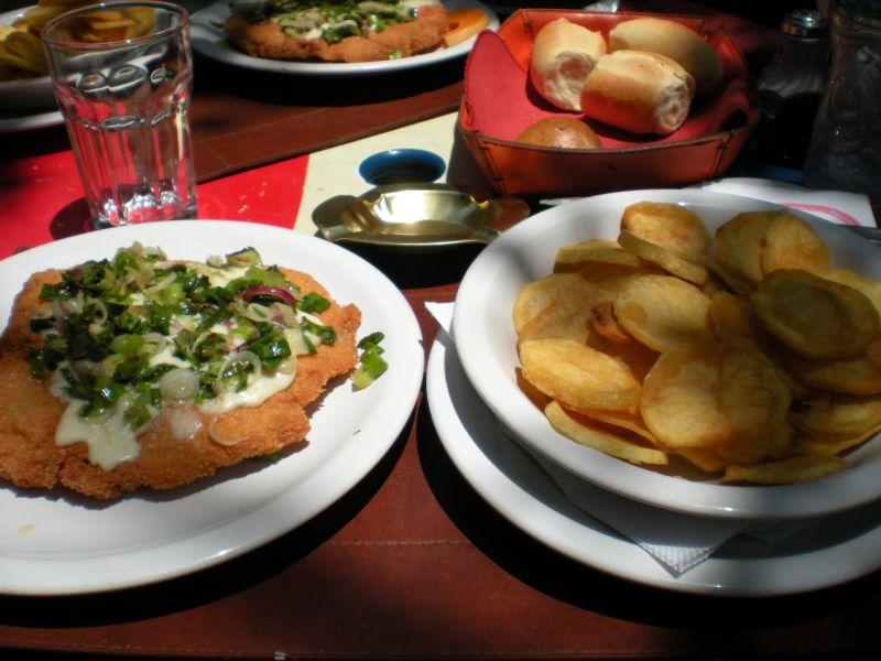 food - close-up on milenesa