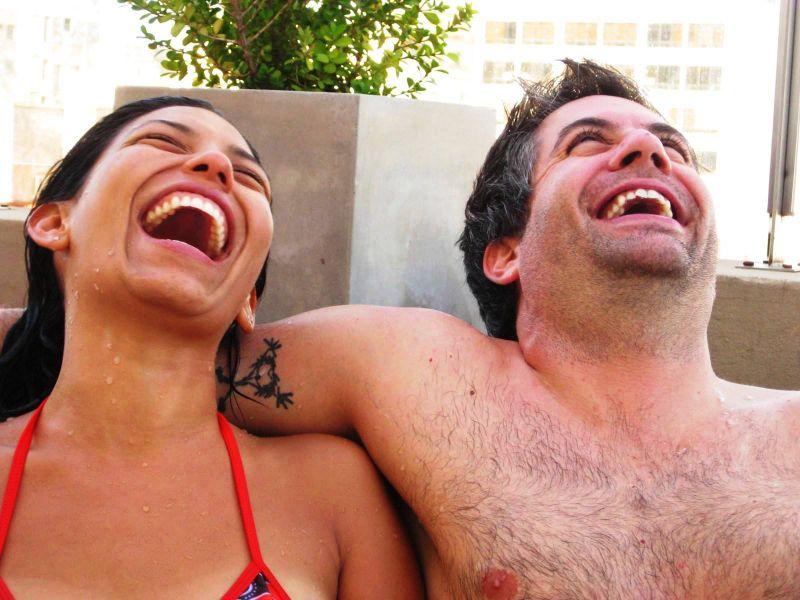BA-Gur and marisa laugh