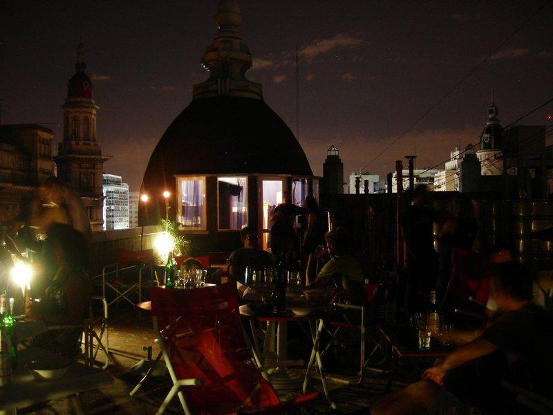 BA: rooftop night