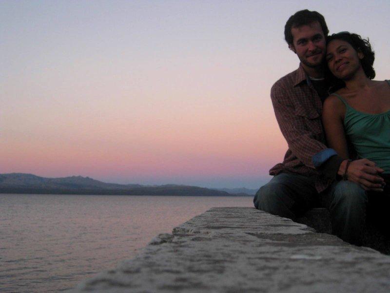 Bariloche: sunset us