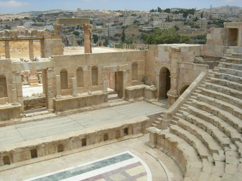 Jarash: north theater