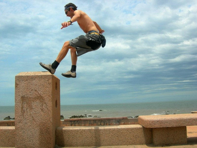 Montevideo: izzy hopping