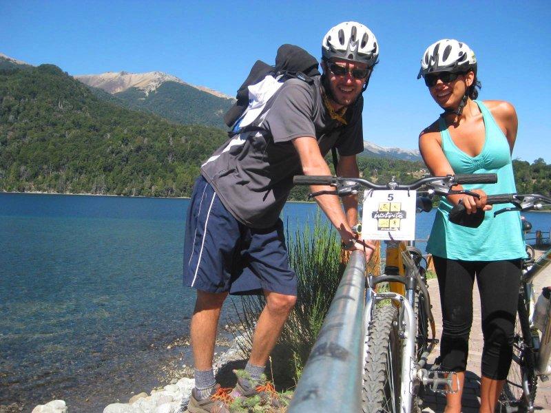 V.La Angostura: bikers