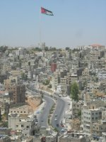 Amman: road to flag