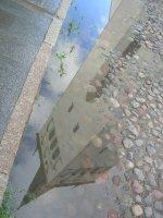 Tallinn: reflection puddle
