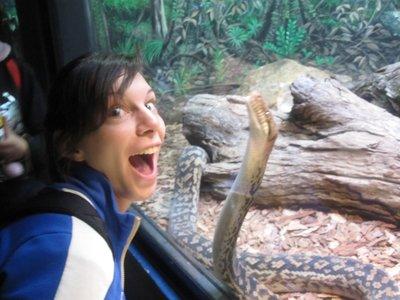 Ahhhh snake!