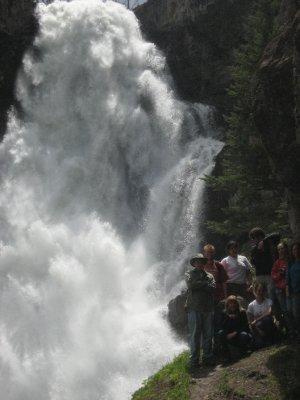Osprey Falls, Yellowstone National Park