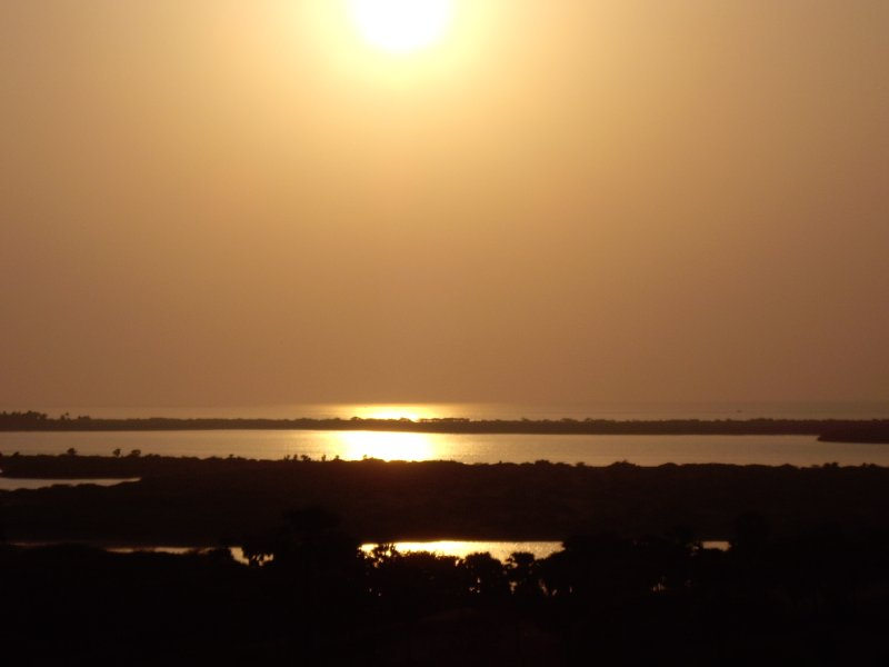 Sunset in Rameswaram