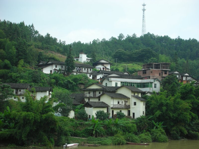 Buildings by the Jui Chu River