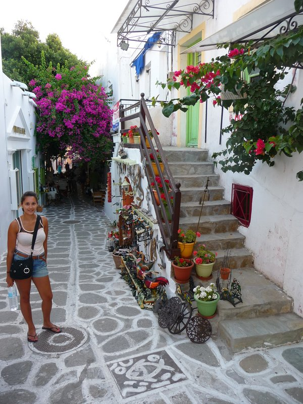 Paros streets