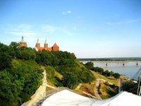Tumskie Hill in Plock, Poland