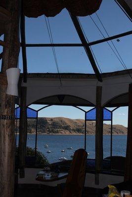 View from El Cielo room