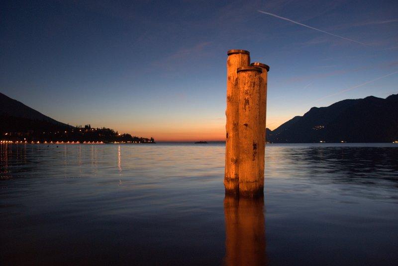 Sunset at Lake Garda