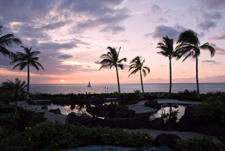Sunset at the Halii Kai