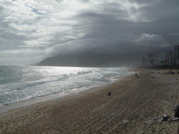 Ipanema beach in Rio de Janiero
