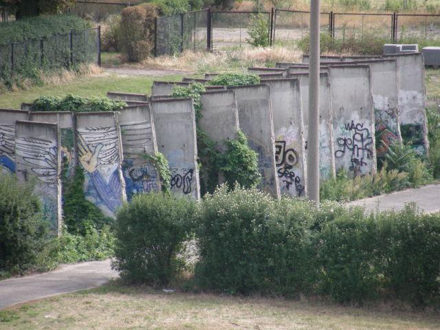 Berlin Wall remnants