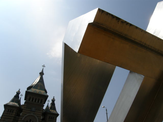 Cathdral and Symbol of Revolution, Timisoara