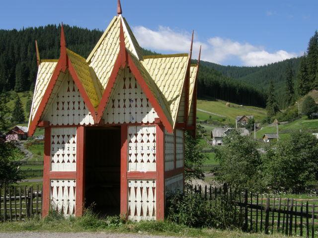 Romanian bus-stop