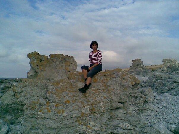 Rauksitting on Gotland