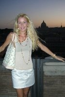 Fashion show on castelle St. Angelo