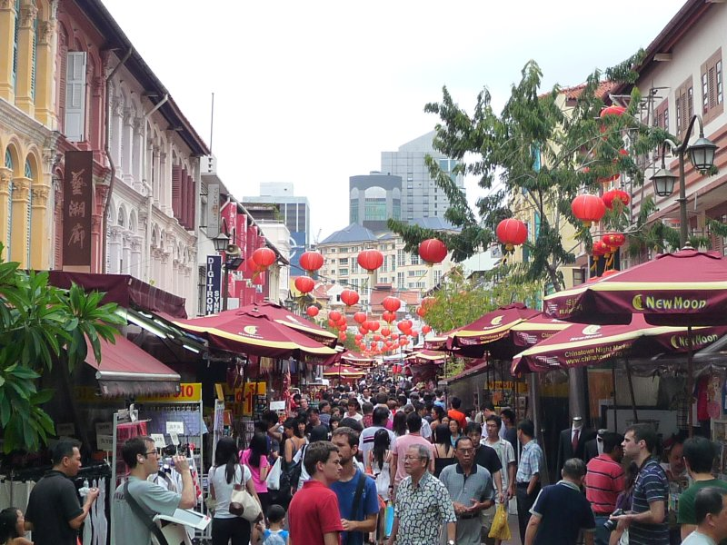 central Chinatown, Singapore