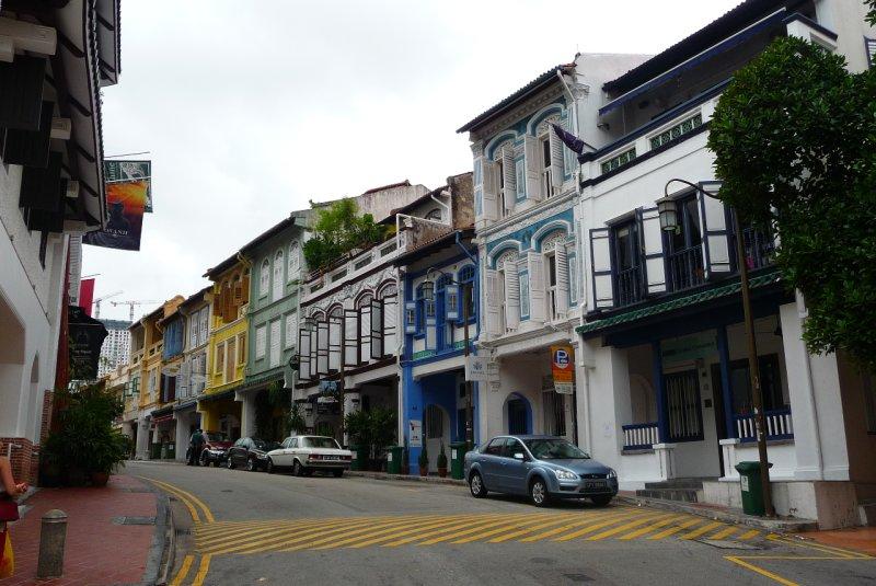 backstreets of Chinatown, Singapore